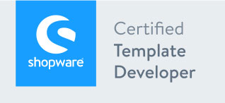 Shopware Certified Template Devekoper